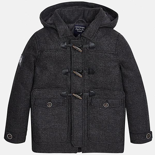 Куртка для мальчика MayoralВерхняя одежда<br>Характеристики товара:<br><br>• цвет: серый;<br>• сезон: демисезон;<br>• температурный режим: от 0 до -10С;<br>• состав ткани: 100% полиэстер;<br>• состав подкладки: 100% полиэстер;<br>• на молнии и на кнопках;<br>• фасон: парка;<br>• капюшон:   отстегивается, без меха;<br>• страна бренда: Испания;<br>• страна изготовитель: Китай.<br><br>Утепленная демисезонная куртка для мальчика от популярного бренда Mayoral,  модный фасон - парка  несомненно понравится вам и вашему ребенку. Качественные ткани, безупречное исполнение, все модели в центре модных тенденций. <br><br>Удлиненная модель серого цвета декорирована вставками под кожу. Модель на мягкой подкладке дополнена нагрудными и передними карманами, отстегивающимся капюшоном на молнии, а также широкими эластичными резинками на манжетах. Куртка застегивается на удобную безопасную молнию, кнопки и пуговицы.<br><br>Легкая и теплая куртка-парка с капюшоном и карманами на холодную осень - теплую зиму. Грамотный крой изделия обеспечивает отличную посадку по фигуре. <br><br>Утепленная демисезонная куртка для мальчика Mayoral (Майорал) можно купить в нашем интернет-магазине.<br>Ширина мм: 356; Глубина мм: 10; Высота мм: 245; Вес г: 519; Цвет: серый; Возраст от месяцев: 96; Возраст до месяцев: 108; Пол: Мужской; Возраст: Детский; Размер: 128/134,170,164,158,152,140; SKU: 6938907;