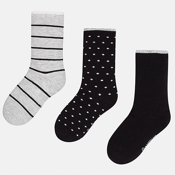 носки dag носки детские комплект 3 пары dag Mayoral Носки (3 пары) для мальчика Mayoral