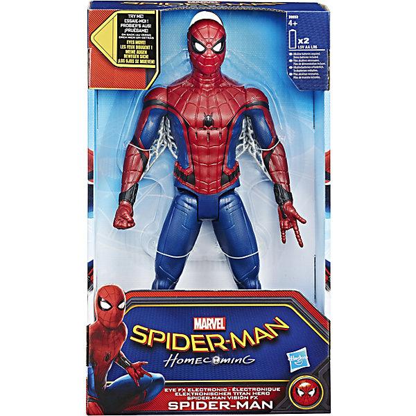 Hasbro Электронная фигурка Титан, Человек-паук, Hasbro фигурка hasbro человек паук электронный злодей c0701