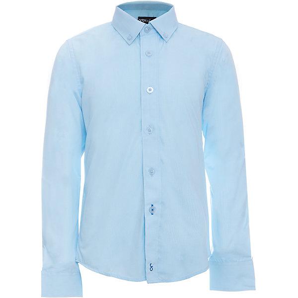 Рубашка для мальчика OrbyБлузки и рубашки<br>Характеристики товара:<br><br>• цвет: голубой<br>• состав ткани: 40% хлопок, 60% ПЭ<br>• особенности: школьная, праздничная<br>• длинные рукава<br>• застежка: пуговицы<br>• отложной воротник<br>• сезон: круглый год<br>• страна бренда: Россия<br>• страна изготовитель: Россия<br><br>Классическая голубая рубашка для мальчика Orby - поможет ребенку выглядеть стильно и чувствовать себя комфортно. Голубая сорочка хорошо дополнит школьную форму. <br><br>Школьная рубашка сшита из материала с добавлением натурального хлопка.<br><br>Рубашку для мальчика Orby (Орби) можно купить в нашем интернет-магазине.<br>Ширина мм: 174; Глубина мм: 10; Высота мм: 169; Вес г: 157; Цвет: голубой; Возраст от месяцев: 96; Возраст до месяцев: 108; Пол: Мужской; Возраст: Детский; Размер: 134,128,122,164,158,152,146,140; SKU: 6960334;