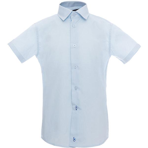 Рубашка для мальчика OrbyБлузки и рубашки<br>Характеристики товара:<br><br>• цвет: голубой<br>• состав ткани: 65 % ПЭ, 35 % хлопок<br>• особенности: школьная, праздничная<br>• короткие рукава<br>• застежка: пуговицы<br>• отложной воротник<br>• сезон: круглый год<br>• страна бренда: Россия<br>• страна изготовитель: Россия<br><br>Голубая рубашка с коротким рукавом для мальчика Orby хорошо дополнит школьную форму. <br><br>Школьная рубашка поможет ребенку выглядеть стильно и чувствовать себя комфортно. Модель сшита из материала с добавлением натурального хлопка. <br><br>Рубашку для мальчика Orby (Орби) можно купить в нашем интернет-магазине.<br>Ширина мм: 174; Глубина мм: 10; Высота мм: 169; Вес г: 157; Цвет: голубой; Возраст от месяцев: 168; Возраст до месяцев: 180; Пол: Мужской; Возраст: Детский; Размер: 170,122,164,158,152,146,140,134,128; SKU: 6960403;