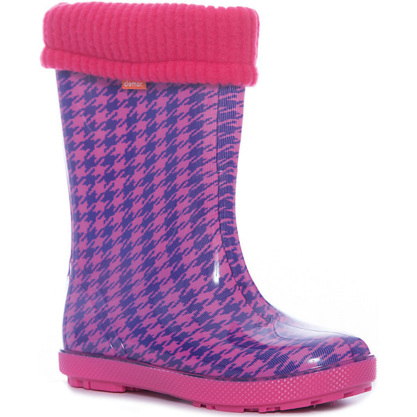 Demar Резиновые сапоги со съемным носком Demar