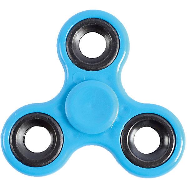 Спиннер для рук, синий, маленький подшипник, Fidget SpinnerАнтистресс игрушки для рук<br>Характеристики товара:<br><br>• цвет: синий;<br>• материал: пластик, металл;<br>• размер упаковки: 7х7х7 см;<br>• вес: 50 грамм;<br>• возраст: от  3лет.<br><br>Игрушка спиннер отлично подойдет для людей, которые любят покрутить что-нибудь в руках. Gyro Spinner состоит из маленького подшипника и трех лопастей, имеющих крестообразное расположение. <br><br>Чтобы спиннер начал крутиться, нужно запустить его, держась за центральный подшипник. Движения спиннера плавные, равномерные и практически бесшумные. Игра со спиннером способствует развитию моторики рук, а также помогает успокоиться и расслабиться. <br><br>Небольшой размер спиннера удобен, чтобы всегда брать игрушку с собой. Крутить его можно на учебе, на работе, в метро и в любом удобном месте.<br><br>Спиннер для рук, синий, маленький подшипник, Fidget Spinner (Фиджет Спиннер) можно купить в нашем интернет-магазине.<br>Ширина мм: 70; Глубина мм: 70; Высота мм: 70; Вес г: 50; Возраст от месяцев: 36; Возраст до месяцев: 2147483647; Пол: Унисекс; Возраст: Детский; SKU: 6970791;