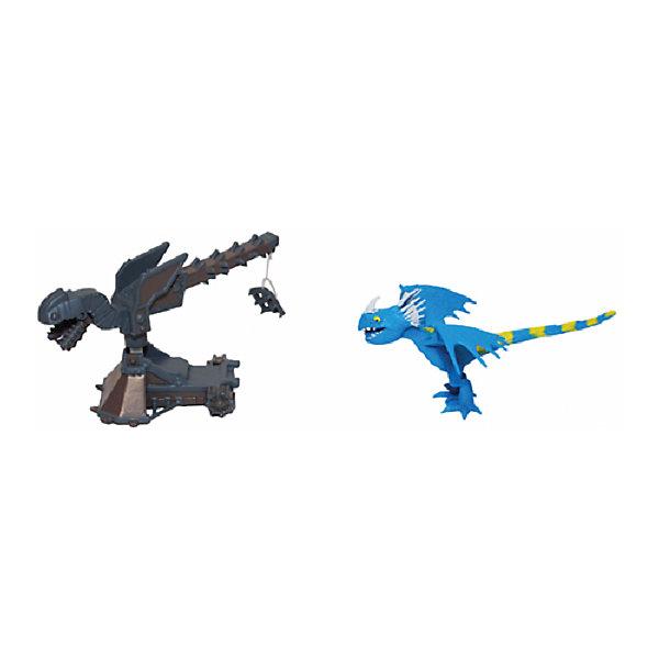 Набор для битв, Spin Master, Как приручить драконаФигурки из мультфильмов<br>Характеристики товара:<br>• в комплекте: дракон, боевая машина, «огненный» диск, карточка с рисунком дракона;<br>• возраст: от 4 лет;<br>• материал: пластик;<br>• высота фигурки: 5 см;<br>• размер упаковки: 18,7х5,9х20,6 см;<br>• страна бренда: Канада.<br><br>В набор для битв входят фигурка дракона и боевая машина, которые являются небольшими копиями героев из мультфильма «Как приручить дракона». Во время игры ребенок сможет воссоздать любимые сцены из мультфильма или придумать для героев новые приключения. Боевая машина оснащена подвижными элементами. Игрушки изготовлены из высококачественного, безопасного пластика и окрашены стойкими нетоксичными красителями.<br>Набор для битв, Spin Master (Спин Мастер), Как приручить дракона можно купить в нашем интернет-магазине.<br>Ширина мм: 63; Глубина мм: 218; Высота мм: 200; Вес г: 76; Возраст от месяцев: 36; Возраст до месяцев: 96; Пол: Мужской; Возраст: Детский; SKU: 6977898;
