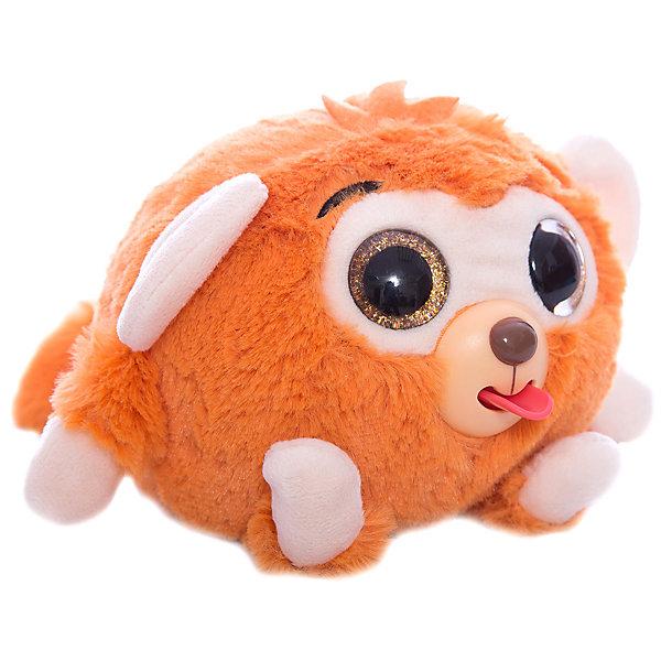1Toy Мягкая игрушка 1toy Дразнюка-Zoo Обезьянка, 13 см, звук 1toyмягкая озвученная игрушка дразнюка zoo лисичка 13 см