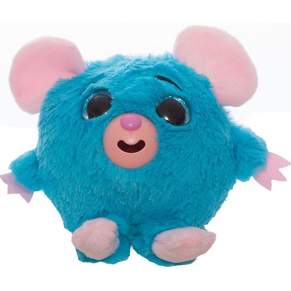 1Toy Мягкая игрушка 1toy Дразнюка-Zoo Мышка, 13 см, звук 1toyмягкая озвученная игрушка дразнюка zoo лисичка 13 см