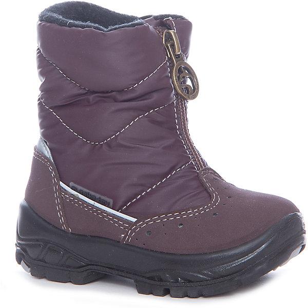 Утепленные сапоги Alaska OriginaleУтепленные<br>Характеристики товара:<br><br>• цвет: фиолетовый;<br>• внешний материал: текстиль, искусственный велюр;<br>• внутренний материал: натуральная шерсть;<br>• стелька: натуральная шерсть;<br>• подошва: полиуретан;<br>• сезон: зима;<br>• температурный режим: от -5 до -25С;<br>• застёжка: молния спереди;<br>• мембрана Alaska-Tex: водо- и ветроотталкивающая, позволяет коже дышать;<br>• дополнительная водонепроницаемость благодаря пропитке верха Waterproof;<br>• во всех сапогах Alaska Originale до 27 размера включительно внутренний материал – натуральная шерсть, начиная с 28 размера – искусственный мех;<br>• два слоя утеплителя, один из которых из натуральной шерсти - для максимального тепла;<br>• слой теплоотражающей фольги в стельке;<br>• сверхлёгкая подошва;<br>• противоскользящий протектор;<br>• износостойкая вставка в мысе;<br>• усиленный защищённый мыс;<br>• страна бренда: Италия.<br><br>Зимние утепленные сапоги на молнии имеют проработанный дизайн и удобную застежку. Мембранная обувь позволяет ногам дышать, при этом призвана защитить их от ветра, холода и влаги.<br><br>Внедрение новейших технологий и большой опыт производства обуви помогают бренду Аляска Ориджинал оставаться востребованным во многих странах. В каждой модели обуви проработаны все нюансы для обеспечения высокой степени комфорта. <br><br>Утепленные сапоги Alaska Originale (Аляска Ориджинал) можно купить в нашем интернет-магазине.