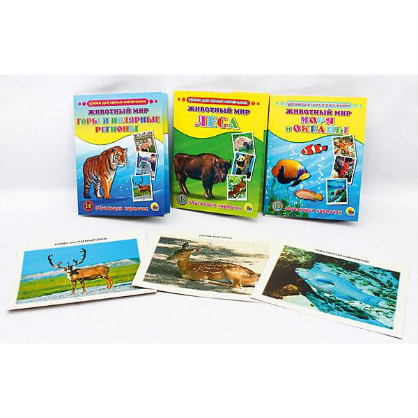 Проф-Пресс Обучающие карточки серии «Уроки для самых маленьких» проф пресс обучающие карточки умный чемоданчик животные и их детеныши
