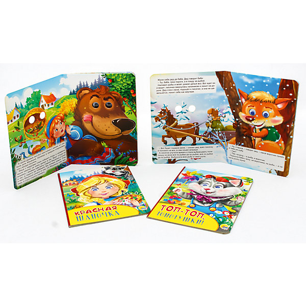 Проф-Пресс Комплект иллюстрированных сказок для малышей книги проф пресс волшебная кнопочка кот в сапогах