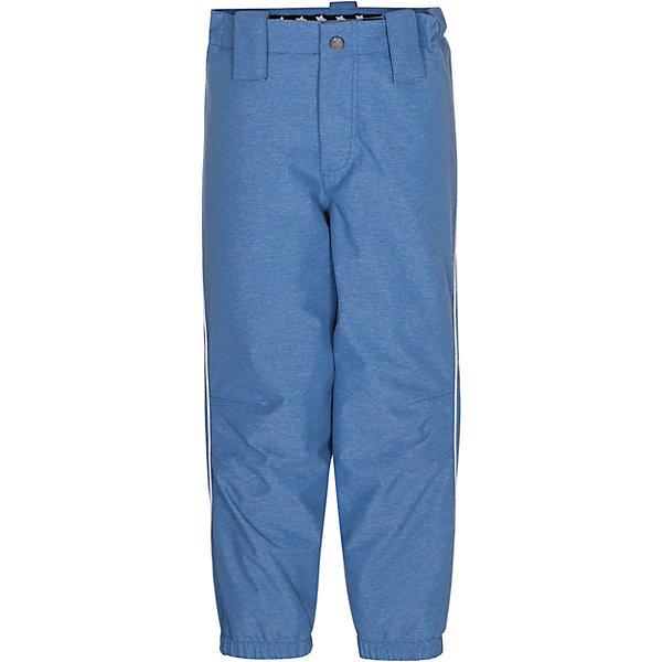 Брюки MOLO для мальчикаВерхняя одежда<br>Зимние брюки Molo <br>• состав: 100% нейлон, 100% полиэстер<br>• температурный режим: 0° до -25° градусов<br>• утеплитель:  ThinsulateTM  прекрасно сохраняющий тепло,  позволяет телу дышать и остается при этом сухим и легким<br>• водонепроницаемость: 10 000 мм<br>• отвод влаги: 8 000 г/м2/24ч<br>• основные швы проклеены<br>• «дышащий» материал<br>• ветро- водо- и грязеотталкивающий материал<br>• комфортная посадка<br>• прочные съёмные силиконовые штрипки<br>• страна производства: Китай<br>• страна бренда: Дания <br> Фантастический и причудливый датский бренд Molo это самый актуальный и стильный дизайн в детской одежде для маленьких модников.<br>Ширина мм: 215; Глубина мм: 88; Высота мм: 191; Вес г: 336; Цвет: голубой; Возраст от месяцев: 132; Возраст до месяцев: 144; Пол: Мужской; Возраст: Детский; Размер: 152,104,140,134,128,122,116,110; SKU: 6994919;