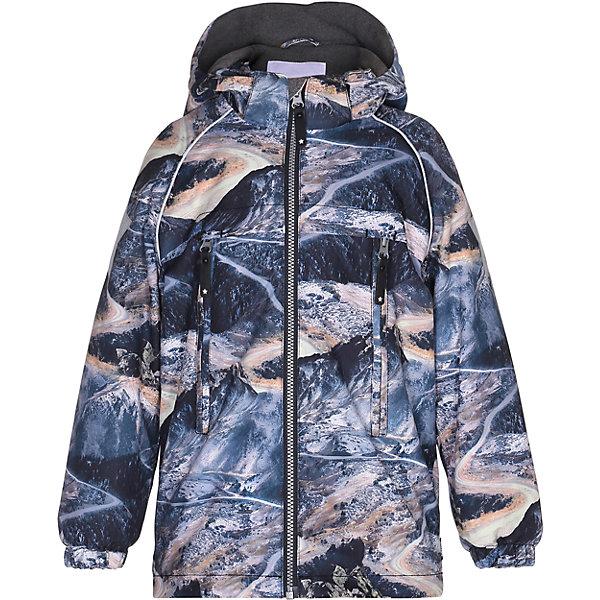 Куртка MOLO для мальчикаВерхняя одежда<br>Зимняя куртка Molo<br>• состав: 100% нейлон, 100% полиэстер<br>• температурный режим: 0° до -25° градусов<br>• утеплитель:  ThinsulateTM  прекрасно сохраняющий тепло,  позволяет телу дышать и остается при этом сухим и легким<br>• водонепроницаемость: 10 000 мм<br>• отвод влаги: 8 000 г/м2/24ч<br>• основные швы проклеены<br>• съёмный капюшон<br>• удобные молнии<br>• «дышащий» материал<br>• ветро- водо- и грязеотталкивающий материал<br>• ветрозащитная планка<br>• комфортная посадка<br>• прочные съёмные силиконовые штрипки<br>• страна производства: Китай<br>• страна бренда: Дания <br> Фантастический и причудливый датский бренд Molo это самый актуальный и стильный дизайн в детской одежде для маленьких модников.<br>Ширина мм: 356; Глубина мм: 10; Высота мм: 245; Вес г: 519; Цвет: белый; Возраст от месяцев: 36; Возраст до месяцев: 48; Пол: Мужской; Возраст: Детский; Размер: 104,146,140,134,128,122,116,110; SKU: 6994964;
