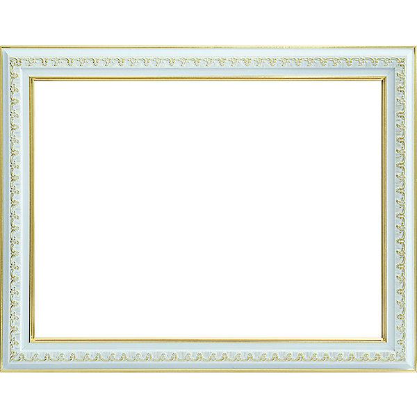 Белоснежка Багетная рама для картин 30х40см 1056-BL Bella (серебрянный+золотой)
