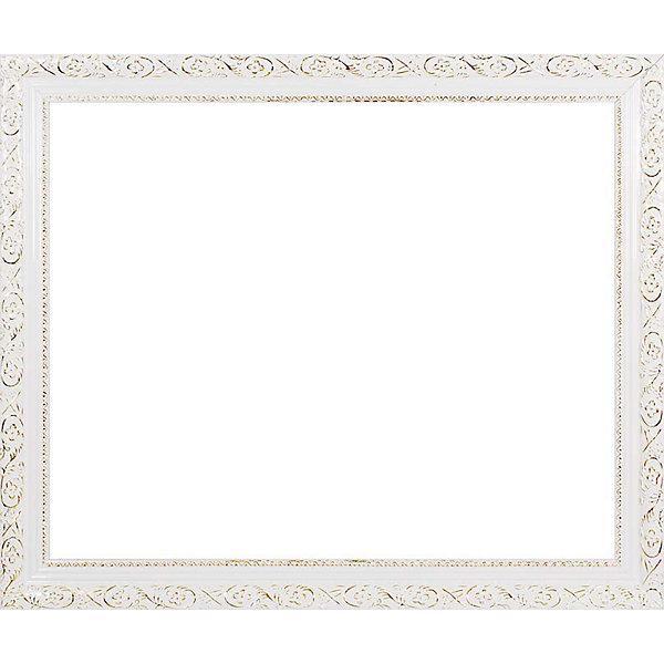 Багетная рама для картин 40х50см  2575-BB Antique (белый) БелоснежкаАксессуары для творчества<br>Характеристики товара:<br><br>• возраст: от 12 лет;<br>• материал: дерево;<br>• размер для картин: 40х50 см.;<br>• цвет: белый с золотым орнаментом;<br>• сечение: 2,1х4,1 см;<br>• вес: 1,4 кг.;<br>• бренд: Белоснежка;<br>• страна бренда: Россия;<br>• страна производства: Китай.<br>                                                                                                                                                                                                                                                                                                                       Багетная рама «2575-BB Antique (белый)» - предназначена для оформления картин, вышивок и фотографий. Оформленное изделие всегда становится более выразительным и гармоничным и придает красивый законченный вид вашей работе. От подбора багета зависит как картина будет выглядеть на стене, станет ярким акцентом или оттенит существующий интерьер.                        <br><br>Комплектация:<br>• багетная рама; <br>• крепление на раму - 2 шт;<br>• дополнительный держатель для холста;<br>• подложка из оргалита;<br>• инструкция.<br><br>Инструкция по использованию:<br>• снимите внешнюю упаковку;<br>• сзади на раме отогните металлические крепления и выньте оргалитовый лист-заглушку;<br>• вставьте готовую картину в раму.<br> <br>Внимание: при установке в раму картин на холсте следует учесть, что толщина подрамника больше толщины рамы и сзади будет выступать, рекомендуем дополнительно зафиксировать картину клеем, лист-заглушку в этом случае не вставляют.     <br><br>Багетная рама  «2575-BB Antique (белый)», 40х50 см, Белоснежка  можно купить в нашем интернет-магазине.<br>Ширина мм: 441; Глубина мм: 541; Высота мм: 21; Вес г: 1400; Возраст от месяцев: 72; Возраст до месяцев: 2147483647; Пол: Унисекс; Возраст: Детский; SKU: 6997988;