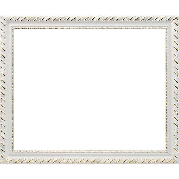 Картинка для Багетная рама для картин 40х50см 2645-BB Constance (белый) Белоснежка