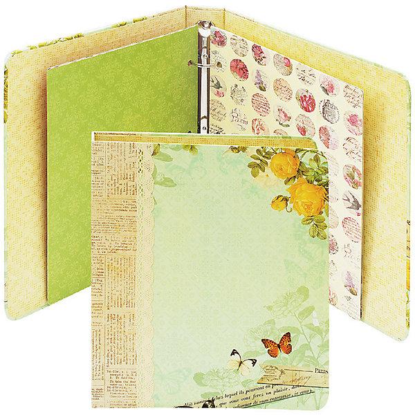 Набор для создания альбома Цветочный БелоснежкаТовары для скрапбукинга<br>Характеристики товара:<br><br>• возраст: от 6 лет;<br>• упаковка: коробка;<br>• размер упаковки: 23,5х20,5х4,5 см..;<br>• материал: плотный картон, бумага для скрапбукинга, пластик, текстиль;<br>• размер альбома в собранном виде: 19,6х23х4 см.;<br>• вес: 500 гр.;<br>• бренд: Белоснежка;<br>• страна бренда: Россия;<br>• страна производства: Китай.<br>                                                                                                                                                                                                                                                                                                                       Набор для создания альбома «Цветочный» поможет создать оригинальное оформление своей истории в фотографиях, сохранит в нем самые теплые воспоминания и радостные моменты. Красивая упаковка набора превращает его в хороший подарок для любителей творчества.<br><br>Скрапбукинг стал популярным и модным увлечением во всём мире, которое помогает развививать у вас и вашего ребенка  мышление, моторику и фантазию, тренирует память, расширяет восприятие цветов и различных оттенков, пространственное мышление. <br><br>Комплектация:<br><br>•  твердая обложка для альбома с кольцами 19,6х23х4 см.;<br>•  10 листов бумаги для скрапбукинга 16х21 см.;<br>•  3 картонные рамки для фотографий;<br>•  2 листа вырубка картон;<br>•  1 лист вырубки русский алфавит;<br>•  1 лист наклеек;<br>•  скотч декоративный 1 шт.;<br>•  клеевые подушечки 1 лист 7х7 см.;<br>•  декоративные элементы: ленты, пайетки, стразы, полубусины; <br>•  инструкция на русском языке. <br>            <br>Набор для создания альбома «Цветочный», Белоснежка  можно купить в нашем интернет-магазине.