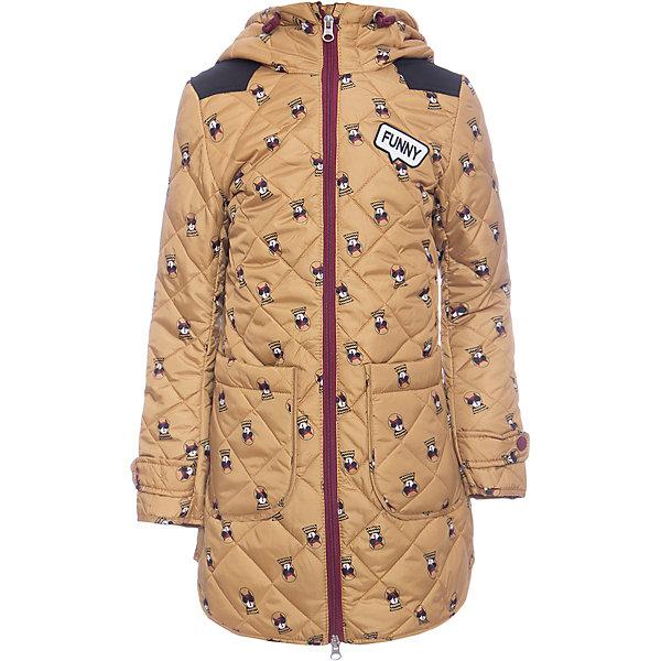 Купить Пальто BOOM by Orby для девочки, Россия, желтый, Женский