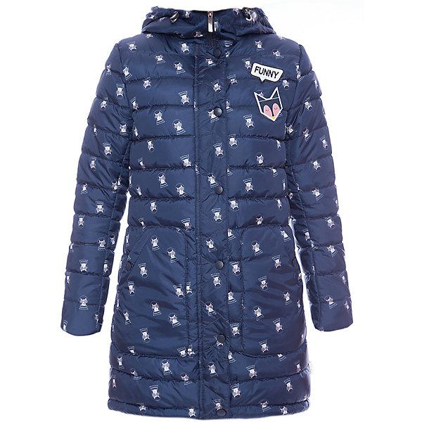 Пальто BOOM by Orby для девочкиВерхняя одежда<br>Характеристики товара:<br><br>• цвет: голубой<br>• ткань верха: Таффета pu milky принт <br>• подкладка: ПЭ пуходержащий<br>• утеплитель: Flexy Fiber 200 г/м2<br>• сезон: демисезон<br>• температурный режим: от -5°до +10°С<br>• особенности: на молнии, стеганая<br>• тип пальто: стеганое<br>• капюшон: без меха, несъемный<br>• страна бренда: Россия<br>• страна изготовитель: Россия<br><br>Удобное пальто до колен украшено принтом, капюшон на нем поможет защитить ребенка от ветра и осадков. Стильное демисезонное пальто для девочки дополнено удобными карманами и резинкой на рукавах, что позволяет обеспечить ей комфорт. <br><br>Пальто BOOM by Orby для девочки можно купить в нашем интернет-магазине.<br>Ширина мм: 356; Глубина мм: 10; Высота мм: 245; Вес г: 519; Цвет: синий; Возраст от месяцев: 24; Возраст до месяцев: 36; Пол: Женский; Возраст: Детский; Размер: 98,104,170,164,158,152,146,140,134,128,122,116,110; SKU: 7007122;