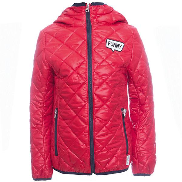 Куртка BOOM by Orby для девочкиВерхняя одежда<br>Характеристики товара:<br><br>• цвет: красный<br>• ткань верха: Таффета oil cire pu milky стеганая <br>• подкладка: ПЭ пуходержащий<br>• утеплитель: Эко синтепон 150 г/м2<br>• сезон: демисезон<br>• температурный режим: от 0°до +15°С<br>• особенности: на молнии, стеганая<br>• тип куртки: стеганая<br>• капюшон: без меха, несъемный<br>• страна бренда: Россия<br>• страна изготовитель: Россия<br><br>Демисезонная яркая курточка для девочки стильно выглядит и удобно сидит. Благодаря утеплителю, оптимальному прилеганию и капюшону такая куртка защитит ребенка от холода и сырости в демисезон. <br><br>Куртку BOOM by Orby для девочки можно купить в нашем интернет-магазине.<br>Ширина мм: 356; Глубина мм: 10; Высота мм: 245; Вес г: 519; Цвет: красный; Возраст от месяцев: 36; Возраст до месяцев: 48; Пол: Женский; Возраст: Детский; Размер: 104,158,152,146,140,134,128,122,116,98,110; SKU: 7007212;