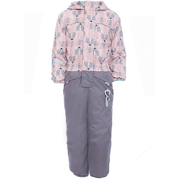 Комбинезон BOOM by Orby для девочкиВерхняя одежда<br>Характеристики товара:<br><br>• цвет: розовый<br>• ткань верха: Нейлон с мембранным покрытием 3000х3000<br>• подкладка: Поларфлис; ПЭ пуходержащий<br>• утеплитель: FiberSoft 150 г/м2<br>• сезон: демисезон<br>• температурный режим: от 0°до +15°С<br>• особенности: на молнии, с ветрозащитным клапаном на липучке<br>• тип комбинезона: с принтом, эластичные резинки на талии, рукавах и штанинах<br>• капюшон: без меха, несъемный<br>• страна бренда: Россия<br>• страна изготовитель: Россия<br><br>Стильный принтованный комбинезон - одна из самых модных моделей наступающего сезона. Благодаря красивому цвету, капюшону и большим карманам детский комбинезон стильно смотрится и хорошо сидит по фигуре. <br><br>Комбинезон BOOM by Orby для девочки можно купить в нашем интернет-магазине.<br>Ширина мм: 356; Глубина мм: 10; Высота мм: 245; Вес г: 519; Цвет: розовый; Возраст от месяцев: 12; Возраст до месяцев: 15; Пол: Женский; Возраст: Детский; Размер: 80,116,110,98,92,104,86; SKU: 7007224;