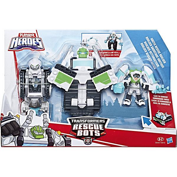 Hasbro Набор фигурок Hasbro PLAYSKOOL Трансформеры-спасатели набор фигурок help ассорти от моли 15шт кедр