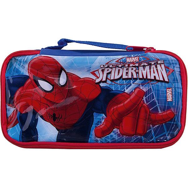 Термосумка для ланча, Великий Человек-паукТермосумки и термосы<br>Характеристики:<br><br>• возраст: от 3 лет;<br>• объем: 500 мл;<br>• дополнительные опции: замок-молния;<br>• материал: текстиль;<br>• размер: 21х11х5 см;<br>• вес: 60 г.<br><br>Красочная текстильная термо-сумка с изображением любимых детских героев подойдет для школьных обедов или пикника. Дети легко смогут открыть замок-молнию и достать перекус.<br><br>Обед будет плотно упакован и защищен от повреждения. Сумку можно использовать в качестве подставки. Сбоку вшита специальная ручка для переноски.<br><br>Термосумка для ланча, Великий Человек-паук, Stor можно приобрести в нашем интернет-магазине.<br>Ширина мм: 210; Глубина мм: 50; Высота мм: 110; Вес г: 60; Возраст от месяцев: 36; Возраст до месяцев: 2147483647; Пол: Унисекс; Возраст: Детский; SKU: 7010358;
