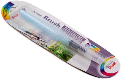 Кисть с резервуаром Aguash Brush в блистере большая, 10мл Pentel, артикул:7010460 - Рисование и лепка