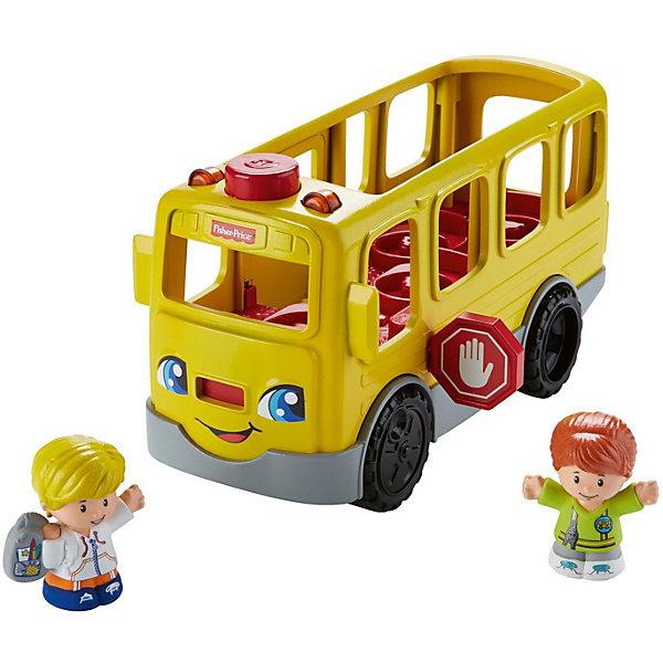 Школьный Автобус Fisher-Price Little People ДружбаМашинки<br>Характеристики:<br><br>• тип игрушки: автобус;<br>• возраст: от 1 года;<br>• размер: 20,5x14,5х35,5 см;<br>• вес: 1,1 кг; <br>• упаковка: картонная коробка;<br>• материал: пластик;<br>• бренд:  Mattel.<br><br>Школьный Автобус Fisher-Price Little People «Дружба» порадует детей разного возраста. Начните веселье, нажав на кнопку открытий: знак Стоп будет убран, и двери автобуса откроются, впуская маленьких пассажиров. Водитель автобуса Эмили готова поздороваться с маленьким Эдди и пожелать ему удачного школьного дня.<br><br> Посадите Эмили на сиденье водителя, чтобы послушать забавные песенки и звуки, а потом автобус отправится в путь! Дети могут помочь Эдди найти новых друзей, поместив других персонажей из коллекций Little People в автобус и посадив их всех рядом!<br><br>Школьный Автобус Fisher-Price Little People «Дружба» можно купить в нашем интернет-магазине.<br>Ширина мм: 205; Глубина мм: 145; Высота мм: 355; Вес г: 1174; Возраст от месяцев: 12; Возраст до месяцев: 60; Пол: Унисекс; Возраст: Детский; SKU: 7014739;
