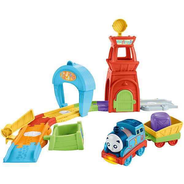 Игровой набор Томас и его друзья Спасательная БашняЖелезные дороги<br>Характеристики:<br><br>• тип игрушки: игровой набор;<br>• возраст: от 1 года;<br>• размер: 33x12,5х40,5 см;<br>• вес: 2,7 кг; <br>• упаковка: картонная коробка;<br>• материал: пластик;<br>• бренд:  Mattel.<br><br>Игровой набор Томас и его друзья «Спасательная Башня» принесет много радости детям, одновременно тренируя им мелкую моторику, мышление и воображение. Минуя контрольные точки, Томас начинает петь и произносить названия букв, цифр и цветов. <br><br>Каждая точка запускает уникальные звуки и фразы. Всего их четыре: для цветов, музыки, букв и цифр и для спасательных операций. Малыши могут поворачивать прожектор, чтобы сбрасывать грузы, опускать и поднимать шлагбаум, открывать ворота, из-за которых выглядывает пожарный паровозик Флинн, а также нажимать на бампер Томаса, чтобы услышать, как он поёт и говорит.<br><br>Игровой набор Томас и его друзья «Спасательная Башня» можно купить в нашем интернет-магазине.<br>Ширина мм: 330; Глубина мм: 125; Высота мм: 405; Вес г: 2774; Возраст от месяцев: 12; Возраст до месяцев: 60; Пол: Унисекс; Возраст: Детский; SKU: 7014749;