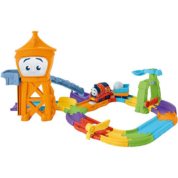 Игровой набор Томас и его друзья КаменоломняЖелезные дороги<br>Характеристики:<br><br>• тип игрушки: игровой набор;<br>• возраст: от 1 года;<br>• размер: 33x12,5х51 см;<br>• вес: 3,2 кг; <br>• упаковка: картонная коробка;<br>• материал: пластик;<br>• бренд:  Mattel.<br><br>Игровой набор Томас и его друзья «Каменоломня» принесет много радости детям и в то же время помогут развить мелкую моторику, мышление, в том числе абстрактное, и воображение. Ребенок катит Джеймса по точкам активации в карьере, и паровозик гудит, играет музыка и звучат фразы, помогающие выучить алфавит, цифры и названия направлений. <br><br>Каждая из четырех точек активирует особые фразы и уникальные звуки: музыку, буквы и цифры, названия направлений, а при пересечении последней звучит фирменная мелодия карьера «Синяя гора».<br><br>Игровой набор Томас и его друзья «Каменоломня»  можно купить в нашем интернет-магазине.<br>Ширина мм: 330; Глубина мм: 125; Высота мм: 510; Вес г: 3212; Возраст от месяцев: 12; Возраст до месяцев: 60; Пол: Унисекс; Возраст: Детский; SKU: 7014750;