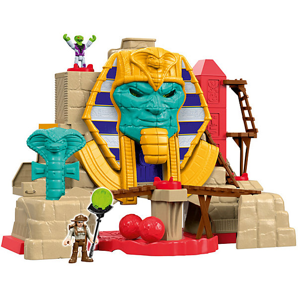 Mattel Игровой набор Fisher-Price Imaginext Расхитители гробниц: пирамида