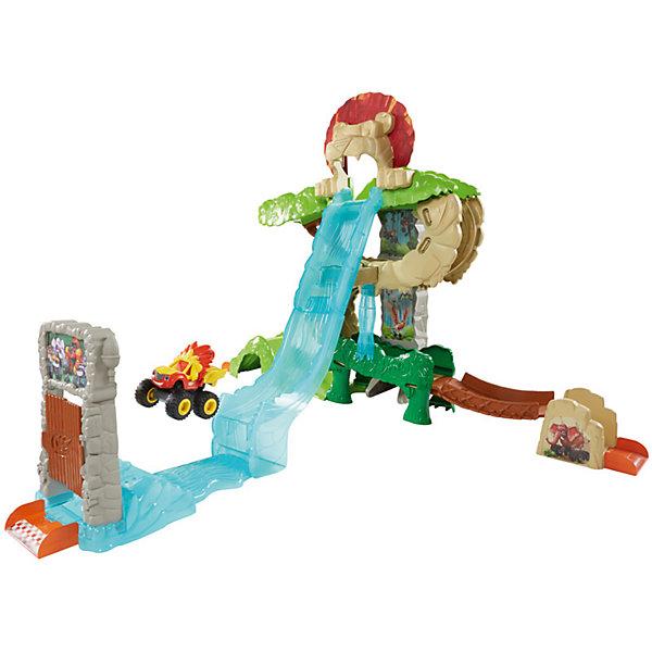 Mattel Игровой набор Fisher-Price Вспыш и чудо-машинки Энимал Айлэнд игровой набор fisher price minnie mouse фургончик для любимых питомцев от 2 лет x2756