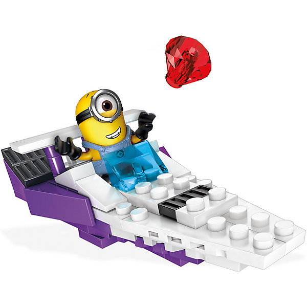 Mattel Быстроходный катер Бальтазара MEGA CONSTRUX Гадкий Я