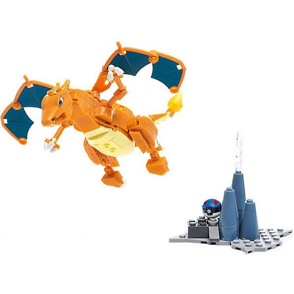 Фото - Mattel Сборная фигурка MEGA CONSTRUX Покемон: Чаризард mattel конструктор mega construx barbie королевский бал