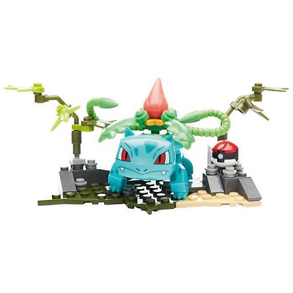 Конструктор Mattel Mega Construx «Эволюция» покемон Ивизавр, 94 детали, Канада, Мужской  - купить со скидкой