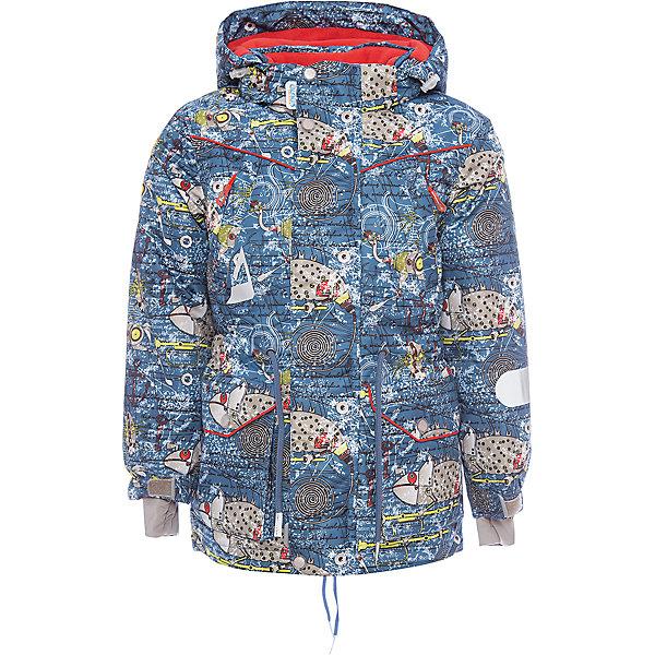 Куртка Эдгар OLDOS ACTIVE для мальчикаВерхняя одежда<br>Характеристики товара:<br><br>• цвет: голубой<br>• состав ткани: полиэстер, Teflon<br>• подкладка: флис<br>• утеплитель: Hollofan pro<br>• сезон: зима<br>• мембрана<br>• температурный режим: от -30 до +5<br>• водонепроницаемость: 5000 мм <br>• паропроницаемость: 5000 г/м2<br>• плотность утеплителя: 200 г/м2<br>• застежка: молния<br>• капюшон: без меха, съемный<br>• страна бренда: Россия<br>• страна изготовитель: Россия<br><br>Теплая куртка для мальчика дополнена элементами, помогающими подогнать её размер под ребенка. Детская зимняя куртка создана с применением мембранной технологии, она рассчитана даже на сильные морозы. Детская куртка от бренда Oldos теплая и легкая. <br><br>Невероятно практичная и технологичная удлиненная парка из зимней коллекции OLDOS ACTIVE. Покрытие Teflon: защита от воды и грязи, износостойкость, за изделием легко ухаживать. Мембрана 5000/5000 обеспечивает водонепроницаемость, отвод влаги и комфортную атмосферу внутри костюма. <br><br>Гипоаллергенный утеплитель HOLLOFAN PRO 200 г/м2 - тоньше обычного, зато эффективнее удерживает тепло и дарит свободу движения. Подкладка флисовый (в рукавах гладкий п/э для легкости одевания). Температурный режим (-30 С...+5 С). Парка прекрасно защитит от ветра и снега благодаря воротнику-стойке, ветрозащитным планкам, снего-ветрозащитной юбке; манжета регулируется по ширине липучкой. Дополнительно в рукавах есть эластичные манжеты с отверстием для большого пальца! <br><br>Спинка удлиненная, низ куртки и талия регулируются по ширине. Капюшон съемный с регулировкой объема. Карманы на молнии и два накладных кармана, есть внутренний кармашек на липучке. Светоотражающие элементы.<br><br>Куртку Эдгар Oldos (Олдос) для мальчика можно купить в нашем интернет-магазине.<br>Ширина мм: 356; Глубина мм: 10; Высота мм: 245; Вес г: 519; Цвет: голубой; Возраст от месяцев: 24; Возраст до месяцев: 36; Пол: Мужской; Возраст: Детский; Размер: 98,128,122,116,110,104; SKU: 70