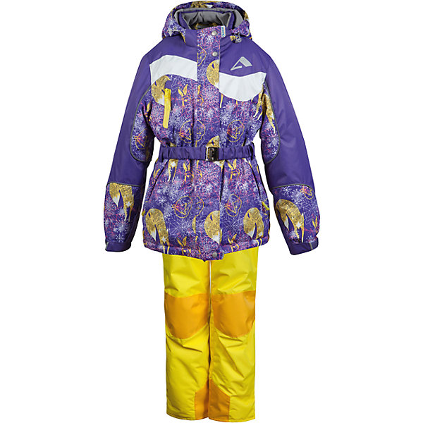 Комплект Oldos Active Алиса: куртка и полукомбинезонКомплекты<br>Характеристики товара:<br><br>• комплектация: куртка и полукомбинезон<br>• состав ткани: полиэстер, Teflon<br>• подкладка: флис<br>• утеплитель: Hollofan pro<br>• сезон: зима<br>• мембрана<br>• температурный режим: от +5 до -30<br>• водонепроницаемость: 5000 мм <br>• паропроницаемость: 5000 г/м2<br>• плотность утеплителя: куртка - 200 г/м2, полукомбинезон - 150 г/м2<br>• застежка: молния<br>• капюшон: без меха, съемный<br>• полукомбинезон усилен износостойкими вставками<br>• страна бренда: Россия<br><br>Детский зимний комплект Oldos Active создан с применением мембранной технологии. Модный комплект Oldos рассчитан даже на сильные морозы. Непромокаемый и непродуваемый верх комплекта для девочки создает комфортный для ребенка микроклимат. Покрытие Teflon: защита от воды и грязи, износостойкость, за изделием легко ухаживать. Мембрана 5000/5000 обеспечивает водонепроницаемость, при этом одежда дышит. Гипоаллергенный утеплитель HOLLOFAN PRO 200/150 г/м2 - тоньше обычного, зато эффективнее удерживает тепло. Подкладка флисовый (в рукавах и брючинах гладкий п/э для легкости одевания). Температурный режим (-30С...+5С). Костюм прекрасно защитит от ветра и снега благодаря воротнику-стойке, ветрозащитным планкам, снего-ветрозащитным муфтам и юбке; манжета регулируется по ширине. Дополнительно в рукавах есть эластичные манжеты с отверстием для большого пальца! Низ куртки регулируется по ширине, эластичный пояс. Капюшон съемный с регулировкой объема. Карманы на молнии, есть внутренний кармашек на липучке. Полукомбинезон с застежкой на молнии, резинкой по талии, широкими эластичными регулируемыми подтяжками, карманами, усилениями в местах износа. Светоотражающие элементы.