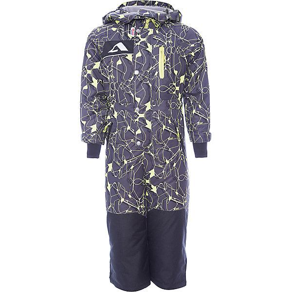 Комбинезон Ариил OLDOS ACTIVE для мальчикаВерхняя одежда<br>Характеристики товара:<br><br>• цвет: серый<br>• состав ткани: полиэстер, Teflon<br>• подкладка: флис, гладкий полиэстер<br>• утеплитель: Hollofan pro<br>• сезон: зима<br>• мембрана<br>• температурный режим: от -30 до +5<br>• водонепроницаемость: 5000 мм <br>• паропроницаемость: 5000 г/м2<br>• плотность утеплителя: 200 г/м2<br>• застежка: молния<br>• капюшон: без меха, съемный<br>• силиконовые штрипки<br>• страна бренда: Россия<br>• страна изготовитель: Россия<br><br>Такой комбинезон для мальчика отлично защищает ребенка от попадания снега внутрь. Детский зимний комбинезон создан с применением мембранной технологии, поэтому рассчитан и на очень холодную погоду. Зимний комбинезон дополнен резинкой в талии для лучшей посадки. <br><br>Внешнее покрытие Teflon - защита от воды и грязи, за изделием легко ухаживать. Мембрана 5000/5000 обеспечивает водонепроницаемость, отвод влаги и комфортную атмосферу внутри. Гипоаллергенный утеплитель HOLLOFAN PRO 200 г/м2 тоньше обычного, но эффективнее удерживает тепло. Подкладка – флис, в рукавах и брючинах – гладкий полиэстер. Флис имеет двустороннюю антипиллинговую обработку, что позволяет надолго сохранить внешний вид и его основные характеристики. <br><br>Комбинезон принтованный, силуэт приталенный, карманы на молнии, светоотражающие элементы, нашивка – потеряшка. Изделие прекрасно защитит от ветра и снега благодаря съемному капюшону с регулировкой объема, воротнику - стойке, ветрозащитным планкам, снего - ветрозащитным муфтам с антискользящей резинкой. Манжеты регулируются по ширине липучкой, есть дополнительные мягкие манжеты с отверстием для большого пальца, силиконовые штрипки.<br><br>Комбинезон Ариил Oldos (Олдос) для мальчика можно купить в нашем интернет-магазине.<br>Ширина мм: 356; Глубина мм: 10; Высота мм: 245; Вес г: 519; Цвет: серый; Возраст от месяцев: 24; Возраст до месяцев: 36; Пол: Мужской; Возраст: Детский; Размер: 98,122,116,110,104; SKU: 7015832;