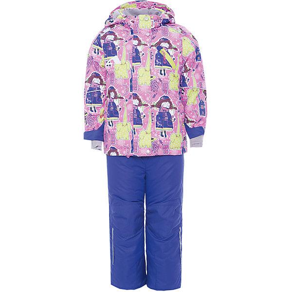 OLDOS Комплект: куртка и полукомбинезон Нелли OLDOS ACTIVE для девочки oldos oldos костюм зимний птичка 300 г м2 200 г м2 куртка и полукомбинезон розовый