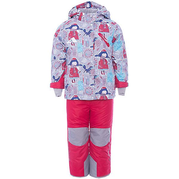 Купить Комплект: куртка и полукомбинезон Нелли OLDOS ACTIVE для девочки, Россия, серый, Женский