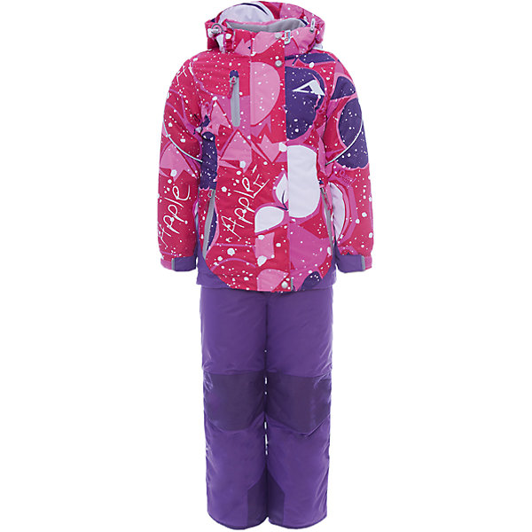 Купить Комплект: куртка и полукомбинезон Лора OLDOS ACTIVE для девочки, Россия, розовый, Женский