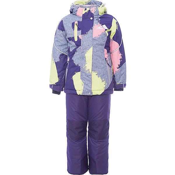 Комплект: куртка и полукомбинезон Ава OLDOS ACTIVE для девочкиВерхняя одежда<br>Характеристики товара:<br><br>• цвет: желтый<br>• комплектация: куртка и полукомбинезон<br>• состав ткани: полиэстер, Teflon<br>• подкладка: флис<br>• утеплитель: Hollofan pro<br>• сезон: зима<br>• мембрана<br>• температурный режим: от -30 до +5<br>• водонепроницаемость: 5000 мм <br>• паропроницаемость: 5000 г/м2<br>• плотность утеплителя: куртка - 200 г/м2, полукомбинезон - 150 г/м2<br>• застежка: молния<br>• капюшон: без меха, съемный<br>• полукомбинезон усилен износостойкими вставками<br>• страна бренда: Россия<br>• страна изготовитель: Россия<br><br>Подкладка этого детского зимнего комплекта - флис, в рукавах и брючинах – гладкий полиэстер. Детский комплект для девочки дополнен элементами, помогающими скорректировать размер точно под ребенка. Детский зимний комплект создан с применением мембранной технологии, поэтому рассчитан даже на сильные морозы и ветра.<br><br>Внешнее покрытие TEFLON - защита от воды и грязи, износостойкость, за изделием легко ухаживать. Мембрана 5000/5000 обеспечивает водонепроницаемость, одежда дышит. Гипоаллергенный утеплитель HOLLOFAN PRO  200/150 г/м2 - эффективно удерживает тепло и дарит свободу движения. Подкладка - флис, в рукавах и брючинах – гладкий полиэстер. <br><br>Карманы на молнии, внутренний карман с нашивкой-потеряшкой. Полукомбинезон приталенный. Костюм имеет светоотражающие элементы. Изделие прекрасно защитит от ветра и снега, т.к. имеет ряд особенностей. В куртке: съемный капюшон с регулировкой объема, воротник-стойка, ветрозащитные планки, снего-ветрозащитная юбка. <br><br>Манжеты на рукавах регулируются по ширине, есть эластичные манжеты с отверстием для большого пальца. Низ куртки регулируется по ширине. В полукомбинезоне: широкие эластичные регулируемые подтяжки, карманы, усиления в местах износа, снего-ветрозащитные муфты.<br><br>Комплект: куртка и полукомбинезон Ава Oldos (Олдос) для девочки можно купить в нашем интернет-магазине.<br>Ши