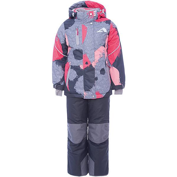 OLDOS Комплект: куртка и полукомбинезон Ава OLDOS ACTIVE для девочки oldos oldos костюм зимний птичка 300 г м2 200 г м2 куртка и полукомбинезон розовый