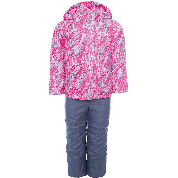 Купить Комплект Oldos Active Адела : куртка и полукомбинезон, Россия, розовый, 92, 134, 128, 122, 116, 110, 104, 98, Женский