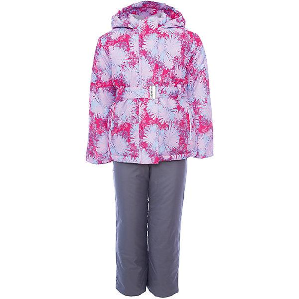 Комплект: куртка и полукомбинезон Николь JICCO BY OLDOS для девочкиВерхняя одежда<br>Характеристики товара:<br><br>• цвет: розовый<br>• комплектация: куртка и полукомбинезон<br>• состав ткани: полиэстер<br>• подкладка: флис<br>• утеплитель: Hollofan <br>• сезон: зима<br>• температурный режим: от -30 до 0<br>• плотность утеплителя: куртка - 300 г/м2, полукомбинезон - 150 г/м2<br>• застежка: молния<br>• капюшон: без меха, несъемный<br>• страна бренда: Россия<br>• страна изготовитель: Россия<br><br>Внешняя ткань с водо-грязеотталкивающей пропиткой защитит от непогоды. Гипоаллергенный утеплитель нового поколения HOLLOFAN плотностью 300/150 г/м2 сохраняет тепло и быстро сохнет. Подкладка-флис, в рукавах и брючинах - гладкий полиэстер. Капюшон слитный, карманы на молнии, пояс. <br><br>Изделие прекрасно защитит от ветра и мороза, т.к. имеет ряд особенностей: воротник-стойка с флисовой вставкой, двойная ветрозащитная планка с защитой подбородка. Рукава с отворотом и внутренней трикотажной саморегулирующейся манжетой. Полукомбинезон с широкими эластичными регулируемыми по длине подтяжками, по талии вшита резинка для прилегания. Изделие имеет светоотражающие элементы.<br><br>Комплект: куртка и полукомбинезон Николь Oldos (Олдос) для девочки можно купить в нашем интернет-магазине.<br>Ширина мм: 356; Глубина мм: 10; Высота мм: 245; Вес г: 519; Цвет: розовый; Возраст от месяцев: 24; Возраст до месяцев: 36; Пол: Женский; Возраст: Детский; Размер: 98,92,134,128,122,116,110,104; SKU: 7016396;