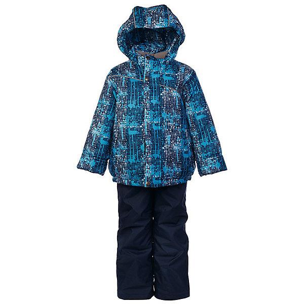 Комплект: куртка и полукомбинезон Джед JICCO BY OLDOS для мальчикаВерхняя одежда<br>Характеристики товара:<br><br>• цвет: синий<br>• комплектация: куртка и полукомбинезон<br>• состав ткани: полиэстер<br>• подкладка: флис<br>• утеплитель: Hollofan <br>• сезон: зима<br>• температурный режим: от -30 до 0<br>• плотность утеплителя: куртка - 300 г/м2, полукомбинезон - 150 г/м2<br>• застежка: молния<br>• капюшон: без меха, несъемный<br>• страна бренда: Россия<br>• страна изготовитель: Россия<br><br>Внешняя ткань с водо-грязеотталкивающей пропиткой защитит от непогоды. Гипоаллергенный утеплитель нового поколения HOLLOFAN плотностью 300/150 г/м2 сохраняет тепло и быстро сохнет. Подкладка-флис, в рукавах и брючинах - гладкий полиэстер. <br><br>Капюшон слитный, карманы на молнии. Изделие прекрасно защитит от ветра и мороза, т.к. имеет ряд особенностей: воротник-стойка с флисовой вставкой, двойная ветрозащитная планка с защитой подбородка. Рукава с отворотом и внутренней трикотажной саморегулирующейся манжетой. Полукомбинезон с широкими эластичными регулируемыми по длине подтяжками, по талии вставлена резинка для прилегания. Изделие имеет светоотражающие элементы. <br><br>Комплект: куртка и полукомбинезон Джед Oldos (Олдос) для мальчика можно купить в нашем интернет-магазине.<br>Ширина мм: 356; Глубина мм: 10; Высота мм: 245; Вес г: 519; Цвет: темно-синий; Возраст от месяцев: 18; Возраст до месяцев: 24; Пол: Мужской; Возраст: Детский; Размер: 92,134,128,122,116,110,104,98; SKU: 7016421;