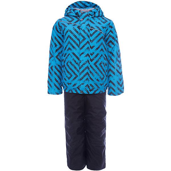 Комплект: куртка и полукомбинезон Вартан JICCO BY OLDOS для мальчикаВерхняя одежда<br>Характеристики товара:<br><br>• цвет: черный<br>• комплектация: куртка и полукомбинезон<br>• состав ткани: полиэстер<br>• подкладка: флис<br>• утеплитель: Hollofan <br>• сезон: зима<br>• температурный режим: от -30 до 0<br>• плотность утеплителя: куртка - 300 г/м2, полукомбинезон - 150 г/м2<br>• застежка: молния<br>• капюшон: без меха, несъемный<br>• страна бренда: Россия<br>• страна изготовитель: Россия<br><br>Внешняя ткань с водо-грязеотталкивающей пропиткой защитит от непогоды. Гипоаллергенный утеплитель нового поколения HOLLOFAN плотностью 300/150 г/м2 сохраняет тепло и быстро сохнет. Подкладка-флис, в рукавах и брючинах - гладкий полиэстер. Капюшон слитный, карманы на молнии. <br><br>Изделие прекрасно защитит от ветра и мороза, т.к. имеет ряд особенностей: воротник-стойка с флисовой вставкой, двойная ветрозащитная планка с защитой подбородка. Рукава с отворотом и внутренней трикотажной саморегулирующейся манжетой. Полукомбинезон с широкими эластичными регулируемыми по длине подтяжками, по талии вставлена резинка для прилегания. Изделие имеет светоотражающие элементы.<br><br>Комплект: куртка и полукомбинезон Вартан Oldos (Олдос) для мальчика можно купить в нашем интернет-магазине.<br>Ширина мм: 356; Глубина мм: 10; Высота мм: 245; Вес г: 519; Цвет: черный; Возраст от месяцев: 18; Возраст до месяцев: 24; Пол: Мужской; Возраст: Детский; Размер: 92,134,128,110,104,98,122,116; SKU: 7016476;
