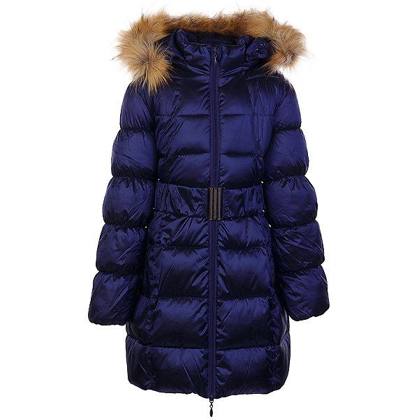 Пальто Кира OLDOS для девочкиВерхняя одежда<br>Характеристики товара:<br><br>• цвет: синий<br>• состав ткани: 42% нейлон, 58% полиэстер, пропитка PU, Teflon<br>• подкладка: флис, полиэстер<br>• утеплитель: искусственный лебяжий пух<br>• сезон: зима<br>• температурный режим: от -35 до 0<br>• застежка: молния<br>• капюшон: с мехом, съемный<br>• страна бренда: Россия<br>• страна изготовитель: Россия<br><br>В составе ткани верха нейлон, что делает изделие износостойким: не линяет, не протирается при интенсивной эксплуатации и сохраняет презентабельный вид при многократных стирках. Покрытие TEFLON - защита от воды и грязи, за изделием легко ухаживать. Современный утеплитель - лебяжий пух искусственный: легкий, как натуральный, отлично сохраняет тепло, не впитывает влагу, держит и быстро восстанавливает объем, гипоаллергенен. Подкладка – флис, в рукавах - гладкий полиэстер. <br><br>Пальто выполнено в классическом стиле, имеет отстегивающуюся опушку из искусственного меха, карманы, пояс, нашивку-потеряшку на подкладке и светоотражающие элементы. Пальто хорошо защищает от ветра и мороза благодаря съемному капюшону с регулировкой объема, воротнику-стойке, ветрозащитной планке с защитой подбородка, внутренним саморегулирующимся трикотажным манжетам в рукавах.<br><br>Пальто Кира Oldos (Олдос) для девочки можно купить в нашем интернет-магазине.<br>Ширина мм: 356; Глубина мм: 10; Высота мм: 245; Вес г: 519; Цвет: синий; Возраст от месяцев: 132; Возраст до месяцев: 144; Пол: Женский; Возраст: Детский; Размер: 152,128,158,146,140,134; SKU: 7016579;