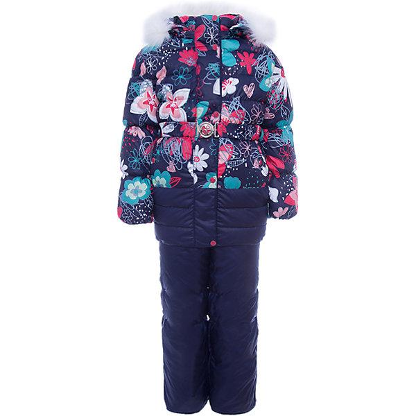 OLDOS Комплект: куртка и полукомбинезон Ромашка для девочки