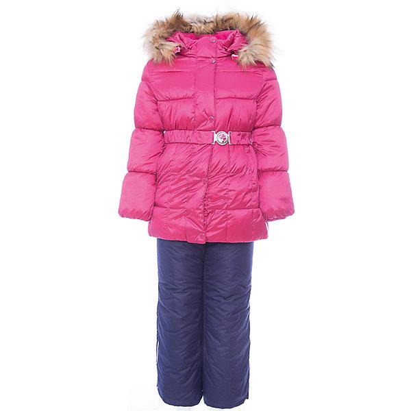 OLDOS Комплект: куртка и полукомбинезон Фания OLDOS для девочки куртка утепленная oldos oldos mp002xg00e2c