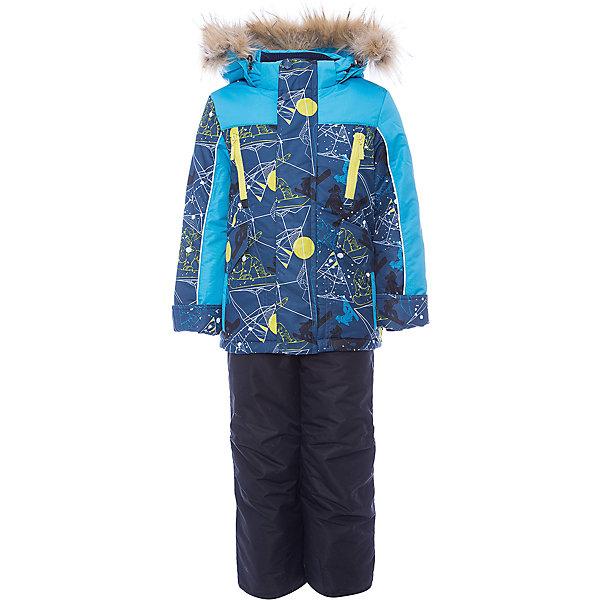 Комплект: куртка и полукомбинезон Стин OLDOS для мальчикаВерхняя одежда<br>Характеристики товара:<br><br>• цвет: синий<br>• комплектация: куртка и полукомбинезон<br>• состав ткани: 100% полиэстер, пропитка PU, Teflon<br>• подкладка: хлопок, полиэстер<br>• утеплитель: Hollofan 250/200 г/м2<br>• подстежка: 60% шерсть, 40% полиэстер<br>• сезон: зима<br>• температурный режим: от -35 до 0<br>• застежка: молния<br>• капюшон: с мехом, съемный<br>• подстежка в комплекте<br>• страна бренда: Россия<br>• страна изготовитель: Россия<br><br>Теплый костюм для мальчика отлично защитит в мороз благодаря качественным материалам. Подкладка зимнего комплекта комбинированная: хлопок и полиэстер. Зимний костюм для мальчика дополнен элементами, помогающими скорректировать размер точно под ребенка. <br><br>Комплект: куртка и полукомбинезон Стин Oldos (Олдос) для мальчика можно купить в нашем интернет-магазине.<br>Ширина мм: 356; Глубина мм: 10; Высота мм: 245; Вес г: 519; Цвет: синий; Возраст от месяцев: 96; Возраст до месяцев: 108; Пол: Мужской; Возраст: Детский; Размер: 134,128,122,116,110; SKU: 7016790;